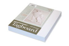 "342808, Tagboard, White, 9""x12"", Heavy Weight"