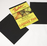 "365030, Fredrix Canvas Pads, Black, 9""x12"""
