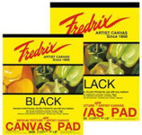 "365033, Fredrix Canvas Pads, Black, 18""x24"""