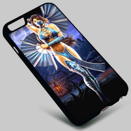 Mortal Kombat Kitana on your case iphone 4 4s 5 5s 5c 6 6plus 7 Samsung Galaxy s3 s4 s5 s6 s7 HTC Case