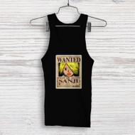Sanji One Piece Wanted Custom Men Woman Tank Top