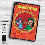 Disney Lilo and Stitch Welcome iPad Samsung Galaxy Tab Case