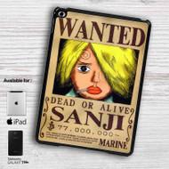 Sanji One Piece Wanted iPad Samsung Galaxy Tab Case
