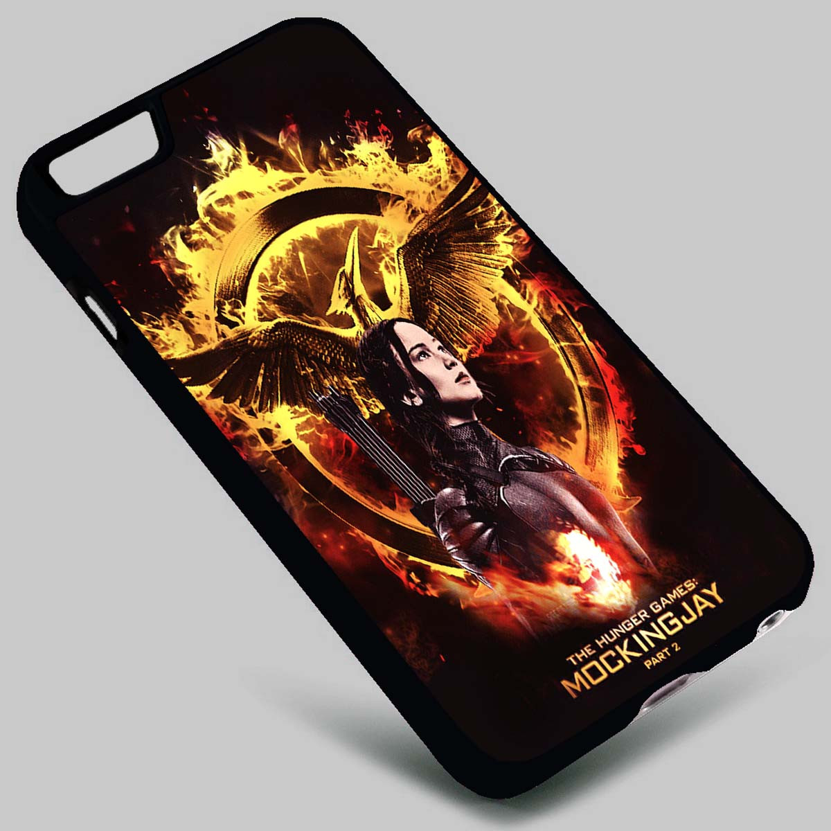 buy online 32917 7df4c The Hunger Games Mockingjay Katniss Everdeen on your case iphone 4 4s 5 5s  5c 6 6plus 7 Samsung Galaxy s3 s4 s5 s6 s7 HTC Case