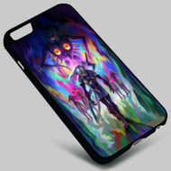 The Legend of Zelda Majora's Mask and Link on your case iphone 4 4s 5 5s 5c 6 6plus 7 Samsung Galaxy s3 s4 s5 s6 s7 HTC Case