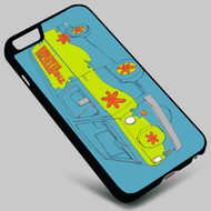 The Scooby Doo Mystery Machine on your case iphone 4 4s 5 5s 5c 6 6plus 7 Samsung Galaxy s3 s4 s5 s6 s7 HTC Case