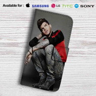 Adam Lambert Tattoo Leather Wallet iPhone 6 Case