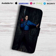 Ash vs Evil Dead Leather Wallet iPhone 6 Case