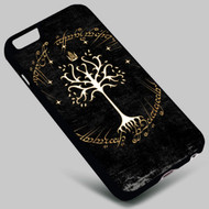 Tree of Gondor The Lord of The Ring on your case iphone 4 4s 5 5s 5c 6 6plus 7 Samsung Galaxy s3 s4 s5 s6 s7 HTC Case