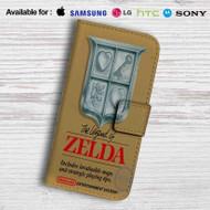 The Legend of Zelda Nintendo NES Game Leather Wallet iPhone 6 Case