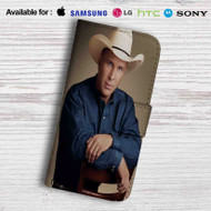 Garth Brooks Leather Wallet iPhone 7 Case
