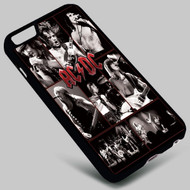 ACDC Name on your case iphone 4 4s 5 5s 5c 6 6plus 7 Samsung Galaxy s3 s4 s5 s6 s7 HTC Case