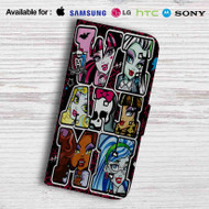Monster High Leather Wallet iPhone 7 Case