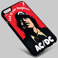 ADCDC Lock Up Your Daughters on your case iphone 4 4s 5 5s 5c 6 6plus 7 Samsung Galaxy s3 s4 s5 s6 s7 HTC Case