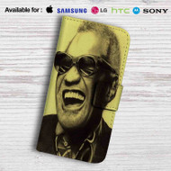 Ray Charles Glasses Leather Wallet iPhone 7 Case