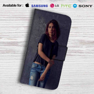 Alessia Cara Photo Leather Wallet Samsung Galaxy S6 Case