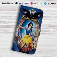 Snow White and The Seven Dwarfs Leather Wallet Samsung Galaxy S6 Case