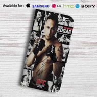 Frankie The Answer Edgar Leather Wallet Samsung Galaxy S6 Case