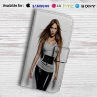 Jennifer Lopez Leather Wallet Samsung Galaxy S6 Case