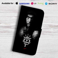 Manny Pacquiao Leather Wallet Samsung Galaxy S6 Case