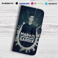 Martin Garrix Leather Wallet Samsung Galaxy S6 Case