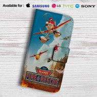 Planes Fire and Recue Disney Leather Wallet Samsung Galaxy S6 Case