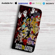Soul Eater Friends Leather Wallet Samsung Galaxy S6 Case
