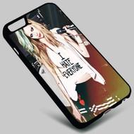 Avril Lavigne (1) on your case iphone 4 4s 5 5s 5c 6 6plus 7 Samsung Galaxy s3 s4 s5 s6 s7 HTC Case