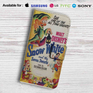Disney Snow White and The Seven Dwarfs Leather Wallet Samsung Galaxy S7 Case