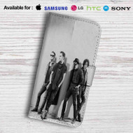 Fall Out Boy Leather Wallet Samsung Galaxy S7 Case