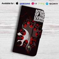 Return of The Living Deadpool Leather Wallet Samsung Galaxy S7 Case