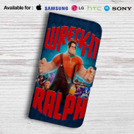Wreck it Ralph Leather Wallet Samsung Galaxy S7 Case