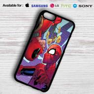 Deadpool Spiderman iPhone 6 Case