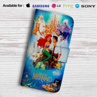 Disney Ariel The Little Mermaid and Prince Leather Wallet Samsung Galaxy Note 5 Case