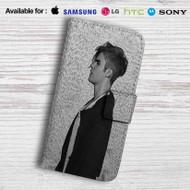 Justin Bieber Purpose Tour Leather Wallet Samsung Galaxy Note 5 Case