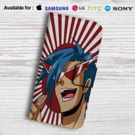 Kamina Gurren Lagann Leather Wallet Samsung Galaxy Note 5 Case