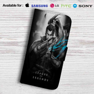League of Legends Yasuo Leather Wallet Samsung Galaxy Note 5 Case