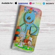 Rick and Morty Mr Meeseeks Monster Leather Wallet Samsung Galaxy Note 5 Case
