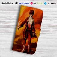 Zuko Avatar Leather Wallet Samsung Galaxy Note 5 Case