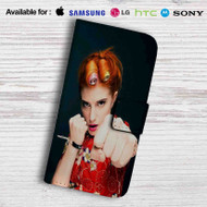 Hayley Williams from Paramore Band Leather Wallet Samsung Galaxy Note 6 Case