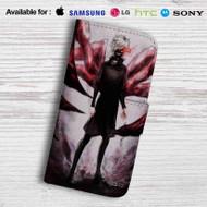 Ken Kaneki Tokyo Ghoul Leather Wallet Samsung Galaxy Note 6 Case