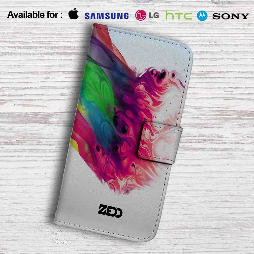 Zedd Cover Leather Wallet Samsung Galaxy Note 6 Case