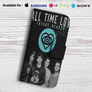 All Time Low Future Hearts Leather Wallet LG G2 Case