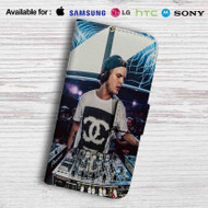 Avicii DJ Leather Wallet LG G2 Case