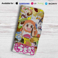 Himouto Umaru-chan Happy Face Leather Wallet LG G2 Case