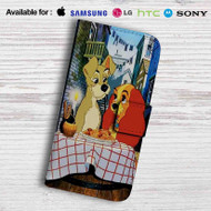 Lady and the Tramp Disney Leather Wallet LG G2 Case
