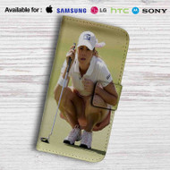 Paula Creamer Leather Wallet LG G2 Case