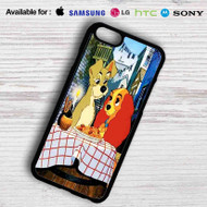 Lady and the Tramp Disney Samsung Galaxy S6 Case