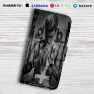 Justin Bieber Purposes Leather Wallet LG G3 Case