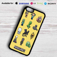 Minecraft Chibi Characters Samsung Galaxy S7 Case